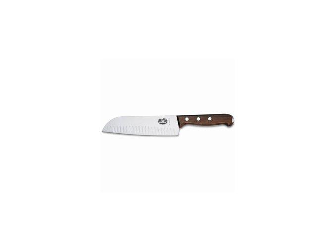 Kuchařský nůž Victorinox SANTOKU s vroubky 17cm