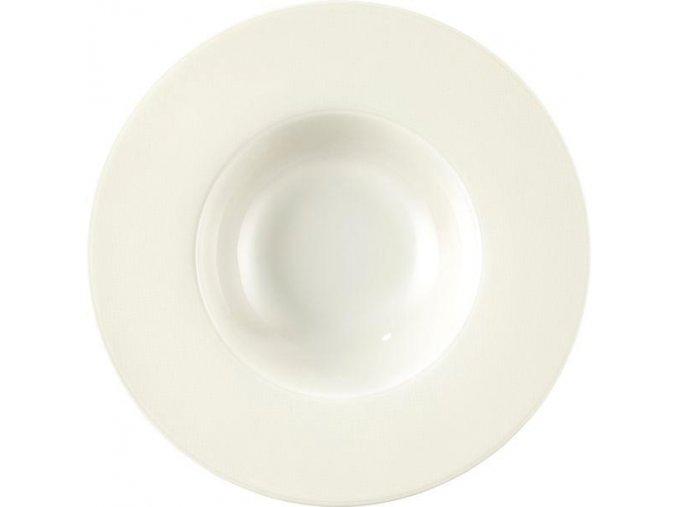 Seltmann Diamant Hluboký talíř 26 cm, krémovobílý, 2 Kusy