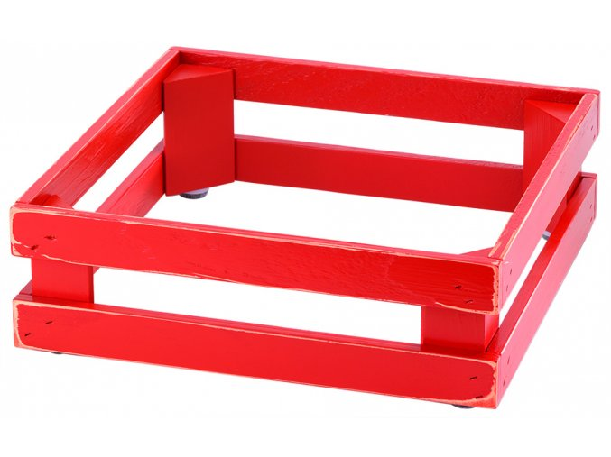 Podstavec RAISER Vintage Red 10cm