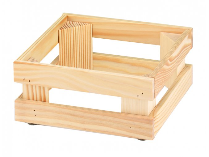 Podstavec RAISER Wood 23x23x10cm