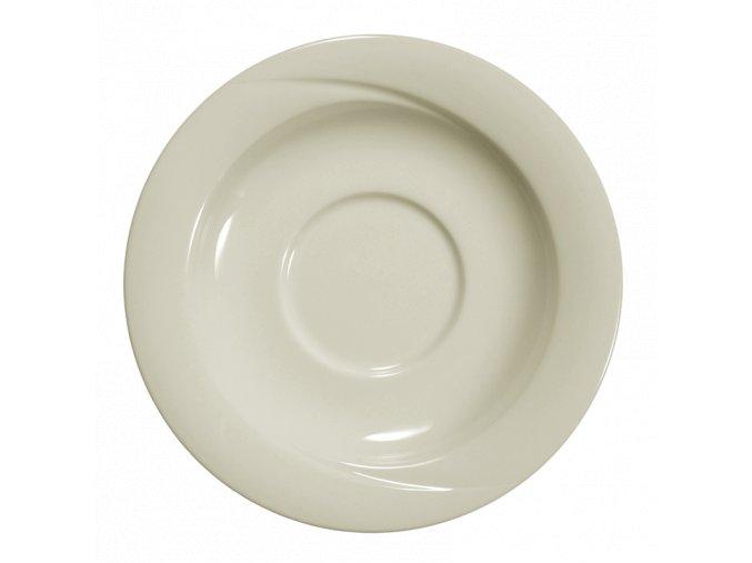 Seltmann luxor fine cream talíř pro misku na polévku, 6ks (Průměr 16 cm)