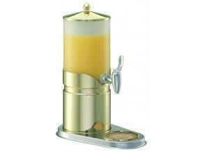 Frilich Elegance výdejník dávkovač na nápoje juice 5 l výtokový ventil pro bufet párty snídaně Gold