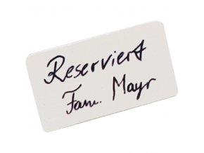 47263 seltmann stojanek na stul rezervace reserve rezerve jmenovka 11x6 3 cm 6 kusu