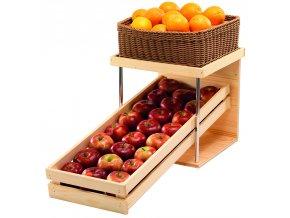 Podstavec na ovoce RAISER Wood, koš na pečivo 3KO020, 3KO021