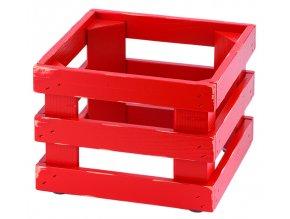 Podstavec RAISER Vintage red 23x23x17cm
