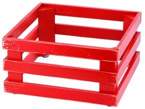 Podstavec RAISER Vintage Red výška 17cm