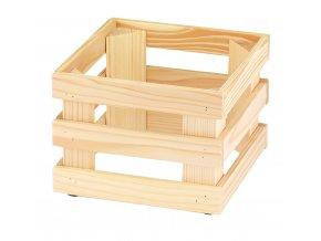 Podstavec RAISER Wood 23x23x17cm