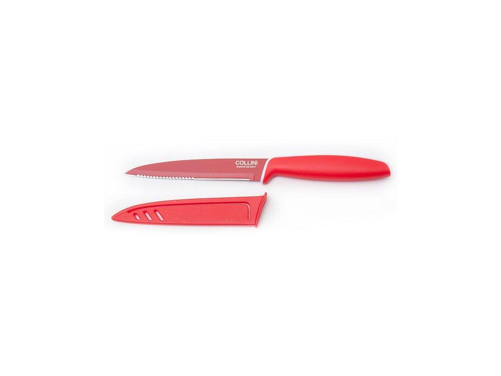 Berndorf Sandrik Teflónový nôž univerzálny červený