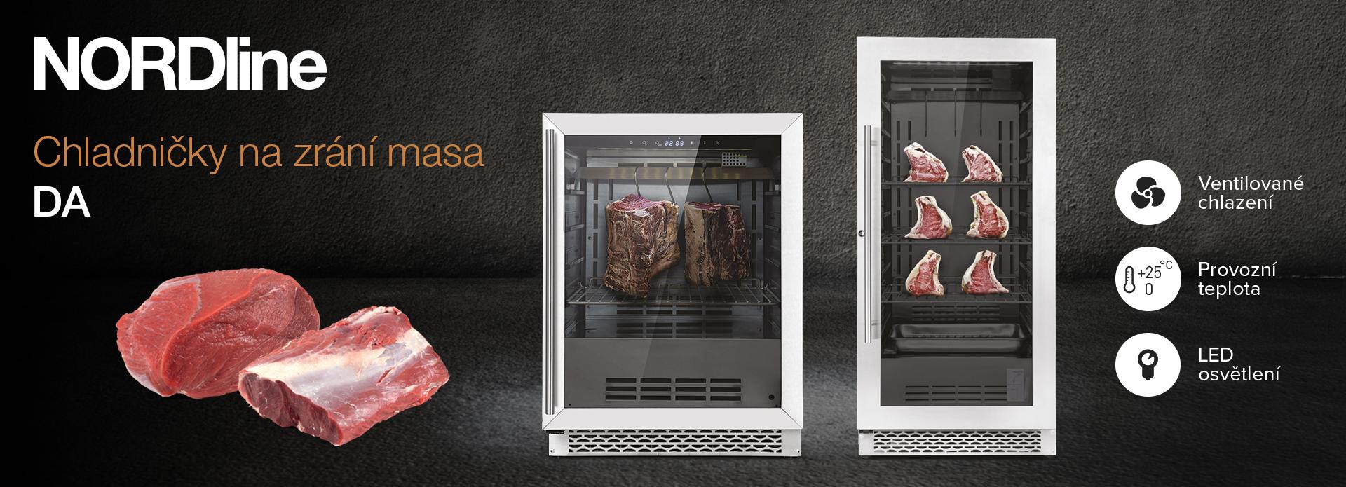 Chladničky na zrání masa