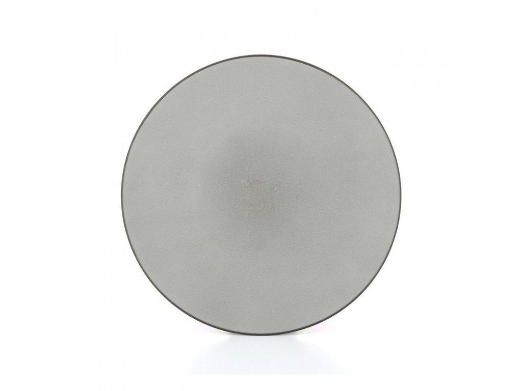 Talíř mělký 31,5 cm - šedý