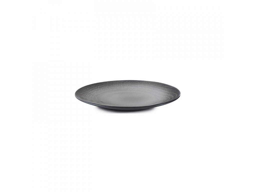 Talíř na chléb 16 cm - černý písek