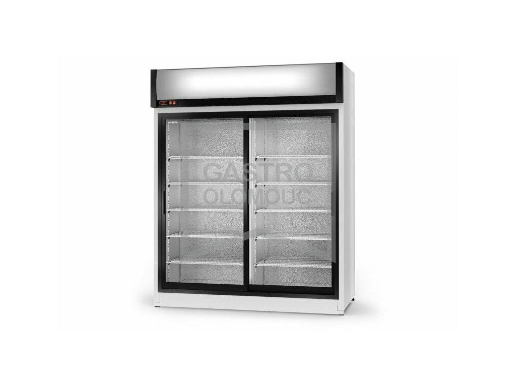 Chladící skříň SCH-SR 2x prosklené dveře AG