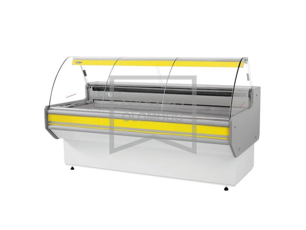 Chladící prodejní vitríny RAPA model LB-107