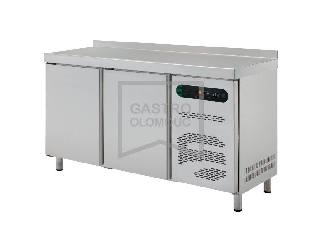 Chladící stoly Asber linie 700 - 2 sekce