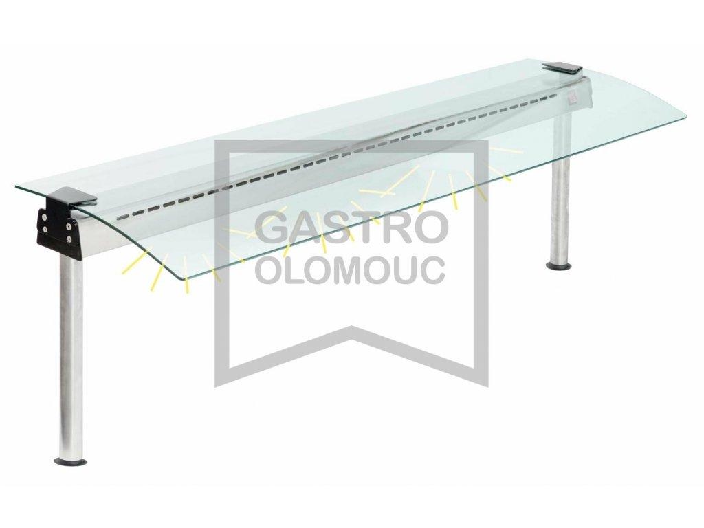 Hygienický zákryt ASBER s osvětlením FS-L-CG1/CG2