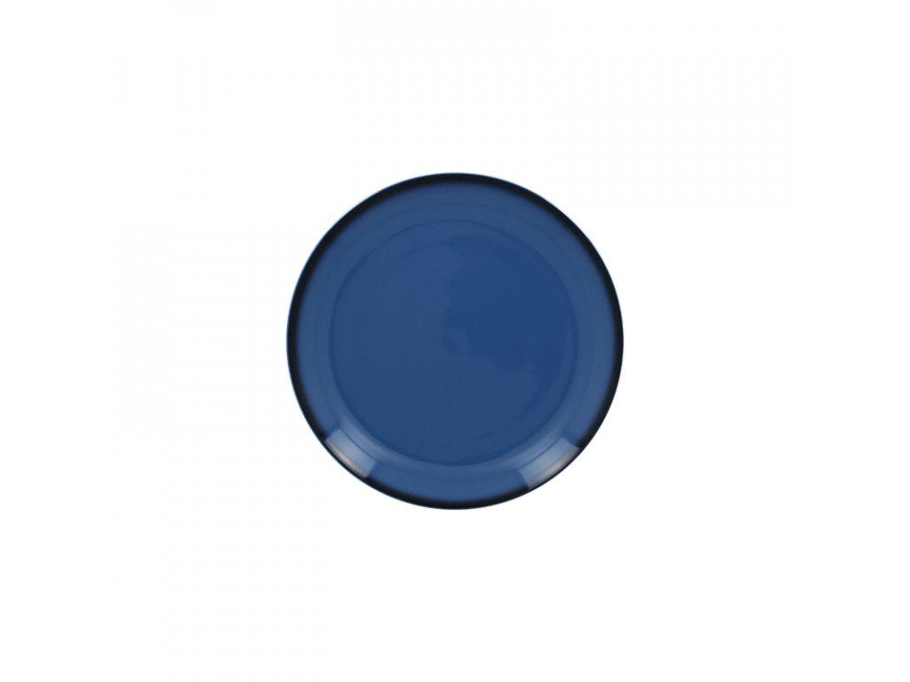 Talíř dezertní kulatý 15 cm - modrá