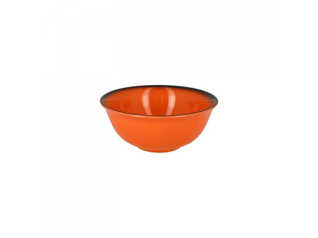 Miska na rýži 16 cm - oranžová
