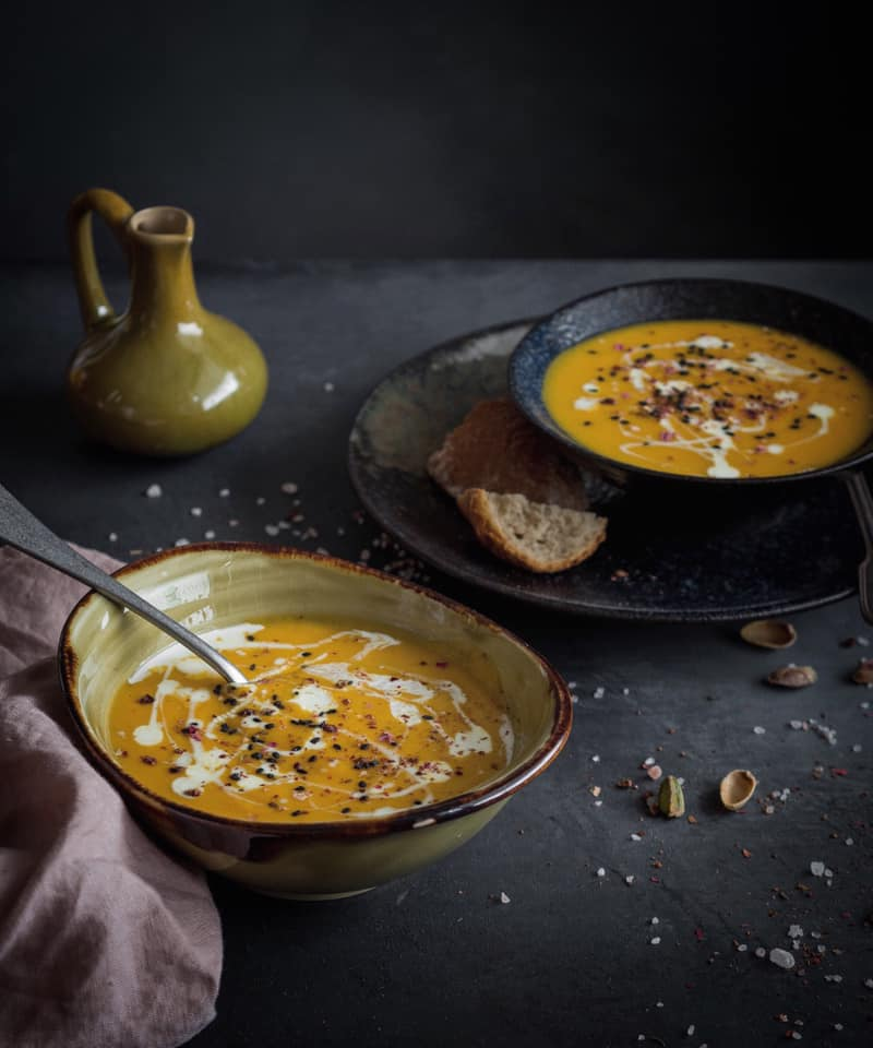 RECEPT: Batátovo-mrkvová polévka