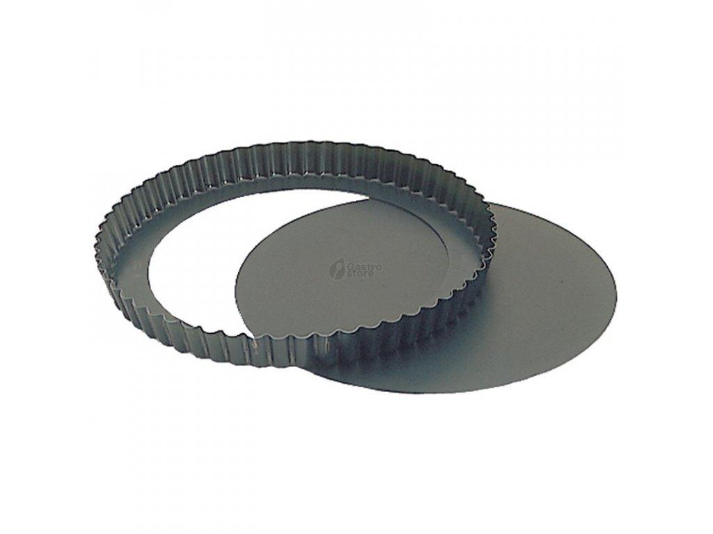 Contacto Vlnitá forma z tvrzené oceli a odnímatelným dnem Ø 320 mm