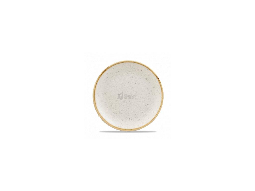 CHURCHILL Stonecast - Barley white 21,7 cm Talíř mělký bílý