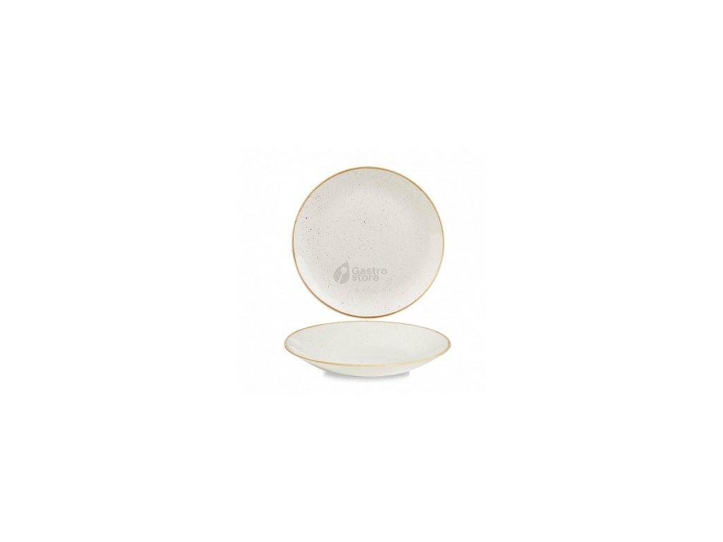 CHURCHILL Stonecast - Barley white 25,5 cm Talíř hluboký coupe