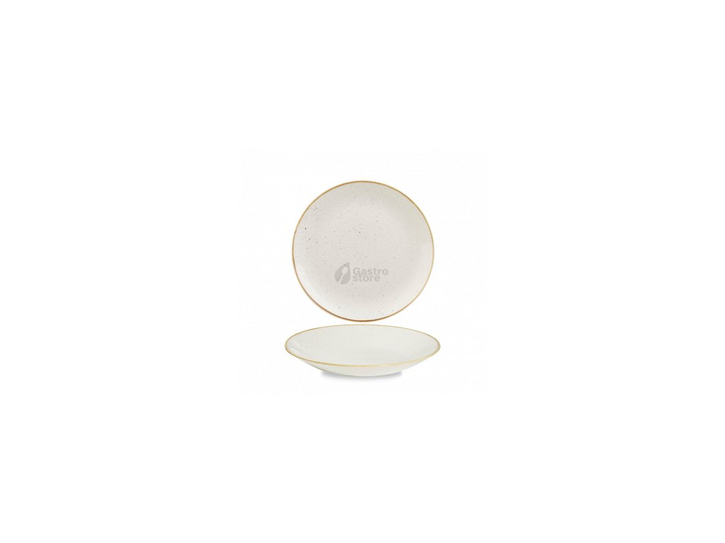 CHURCHILL Stonecast - Barley white 22,5 cm Talíř hluboký coupe