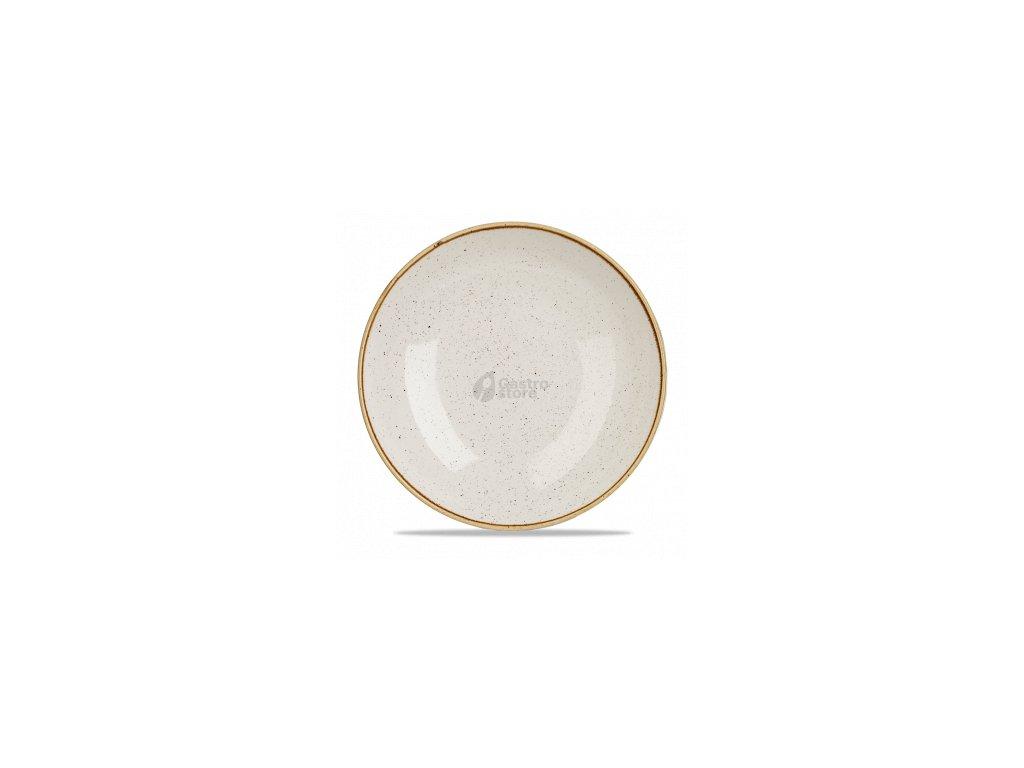 CHURCHILL Stonecast - Barley white 31 cm Mísa coupe