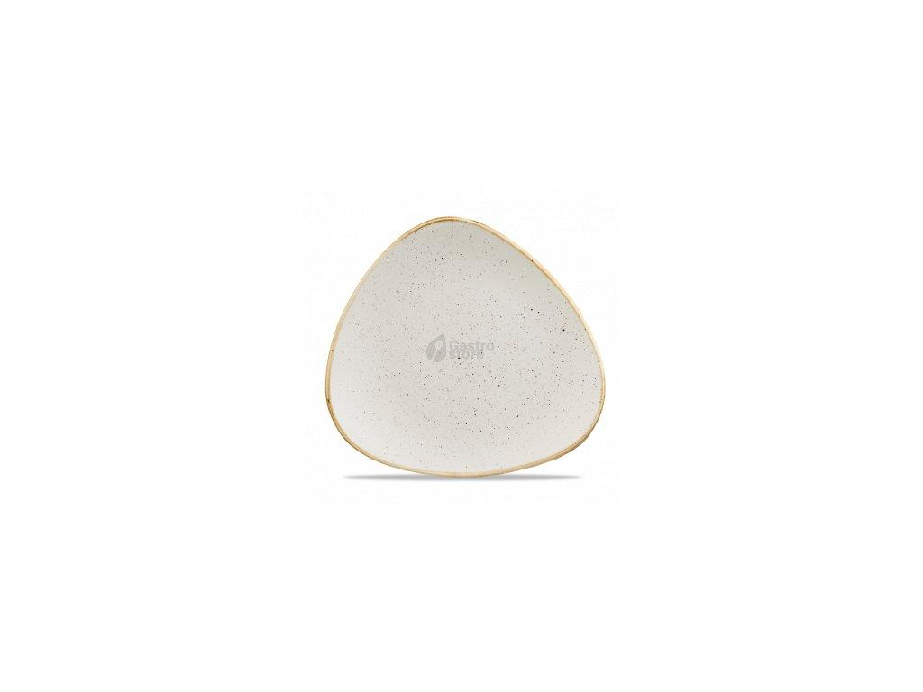 CHURCHILL Stonecast - Barley white 26,5 cm Talíř trojúhelníkový