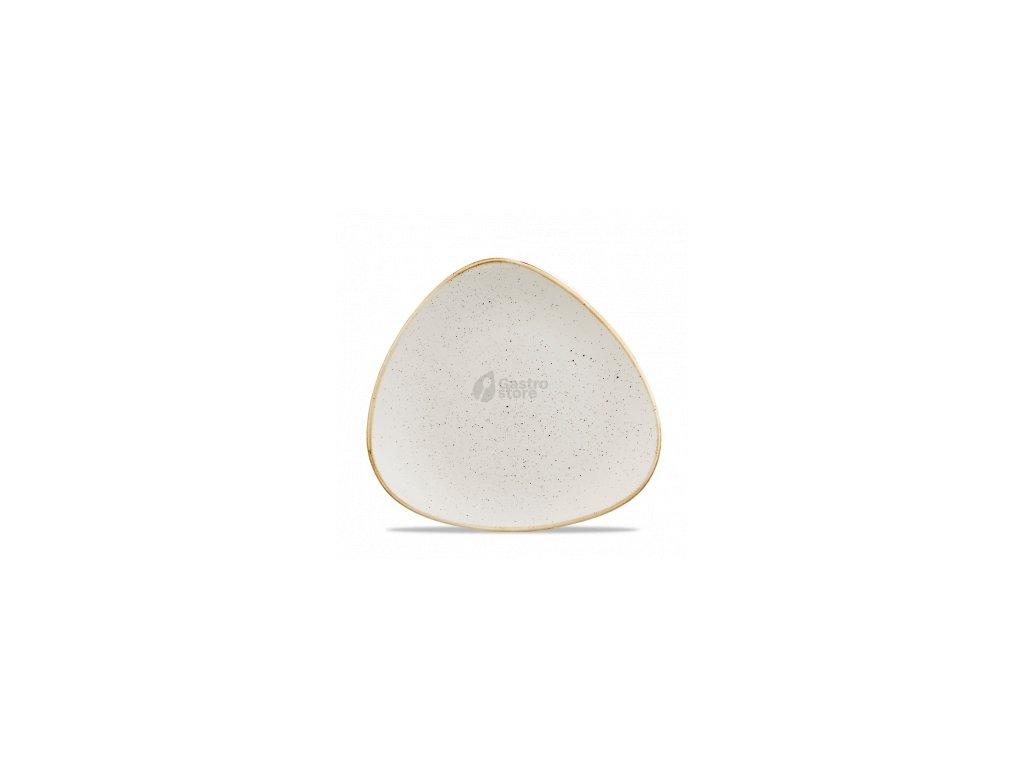CHURCHILL Stonecast - Barley white 19,2 cm Talíř trojúhelníkový