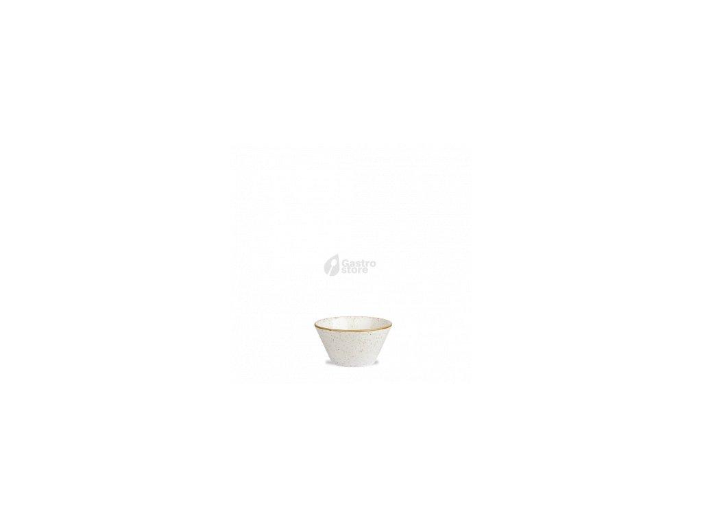 CHURCHILL Stonecast - Barley white 8 cm Miska