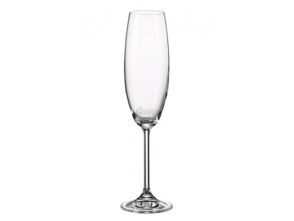 Bohemia Crystal - Sklenice na sekt Gastro 230 ml 6 ks