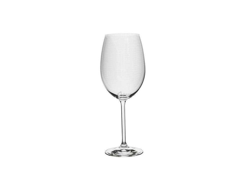 Bohemia Crystal - Sklenice bordeaux 600 ml 2ks