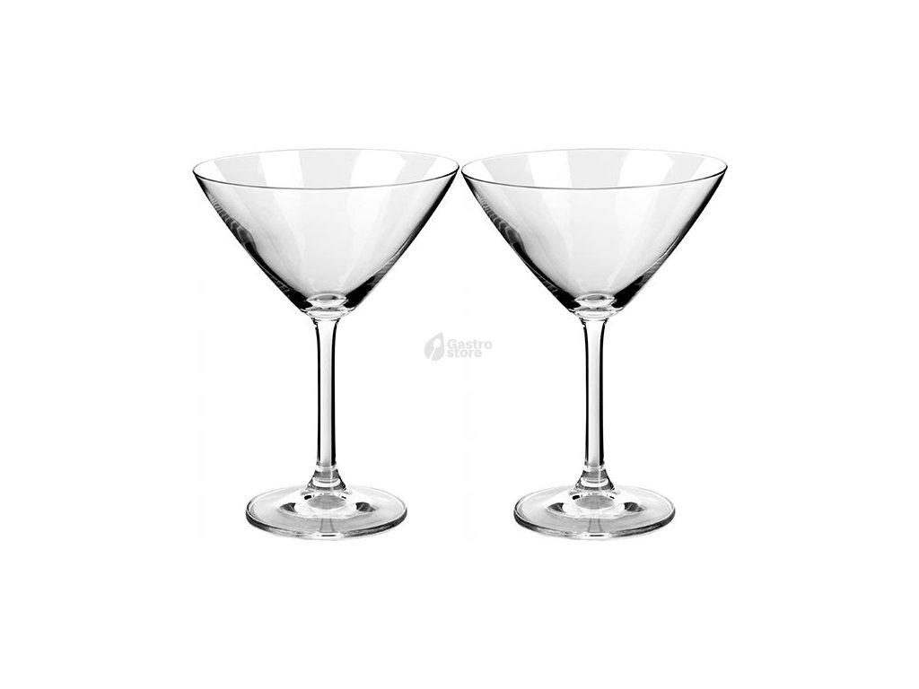 Bohemia Crystal - Sklenice martini 285 ml 2ks