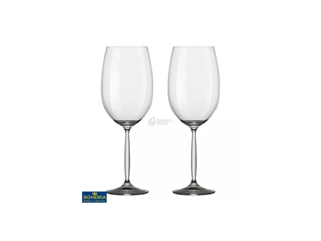 Bohemia Crystal - Sklenice na červené víno 850 ml 2ks