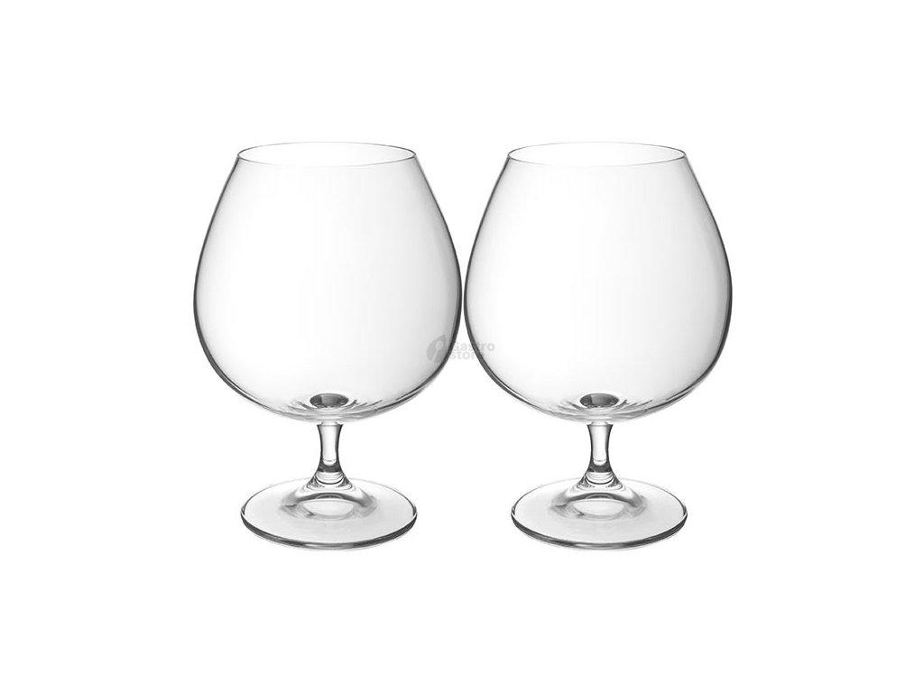 Bohemia Crystal - Sklenice na brandy 690 ml 2ks