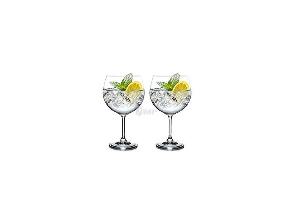 Bohemia Crystal - Sklenice gin tonic 820 ml 4ks