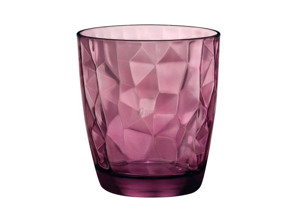 Bormioli Rocco Sklenice Diamond 305 ml fialová 6 ks