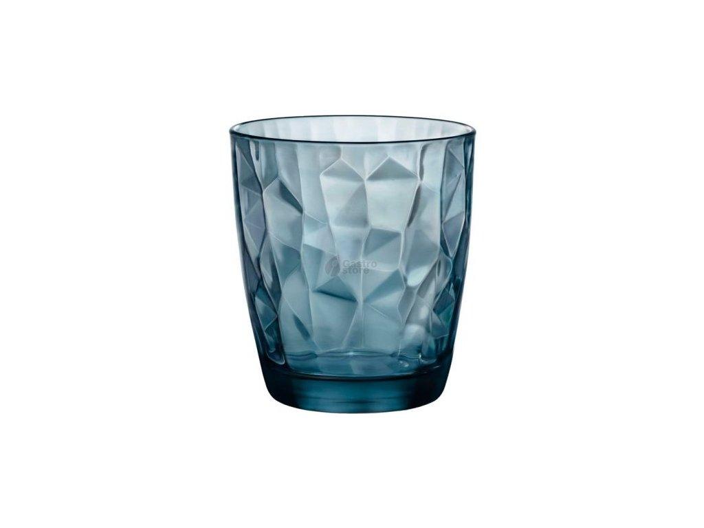 Bormioli Rocco Sklenice Diamond 305 ml modrá