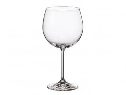 Bohemia Crystal - Sklenice Burgundy Gastro 570 ml