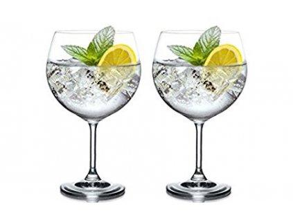 Bohemia Crystal - Sklenice gin tonic 820 ml 2ks