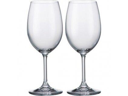 Bohemia Crystal - Sklenice na bílé víno 450 ml 2 ks