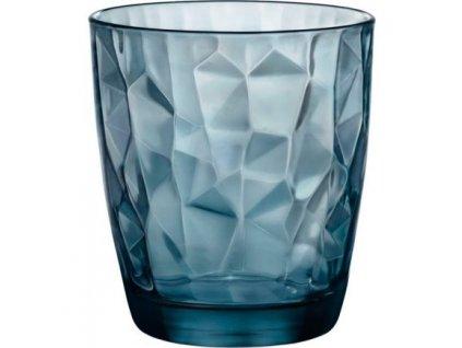 Bormioli Rocco Sklenice Diamond 305 ml modrá 6 ks