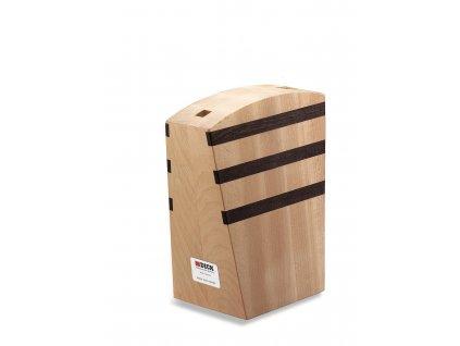 magneticky blok stojan na noze prazdny dreveny