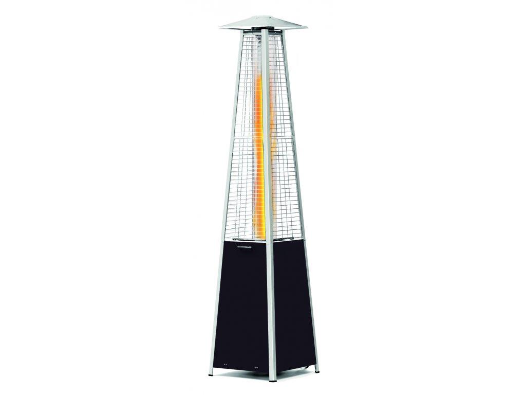 Plynová ohrevná lampa s pyramídovým plameňom