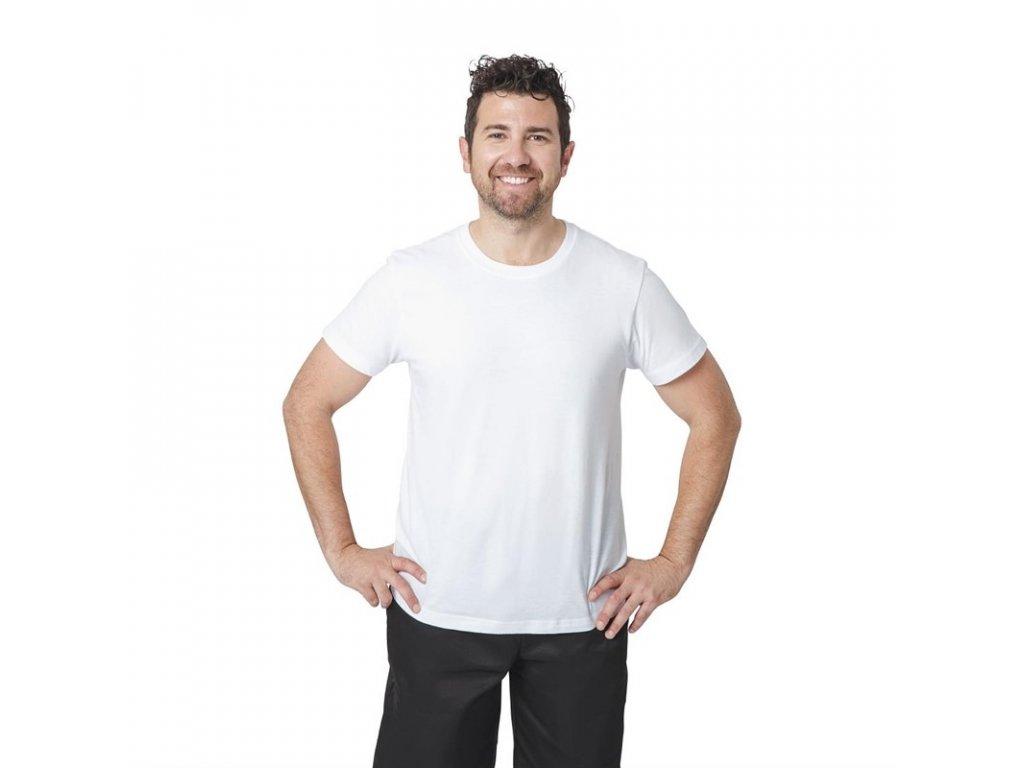 Unisex tričko biele XL