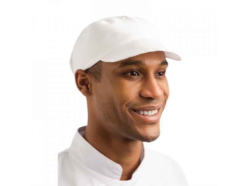 Whites Pekárska čapica biela