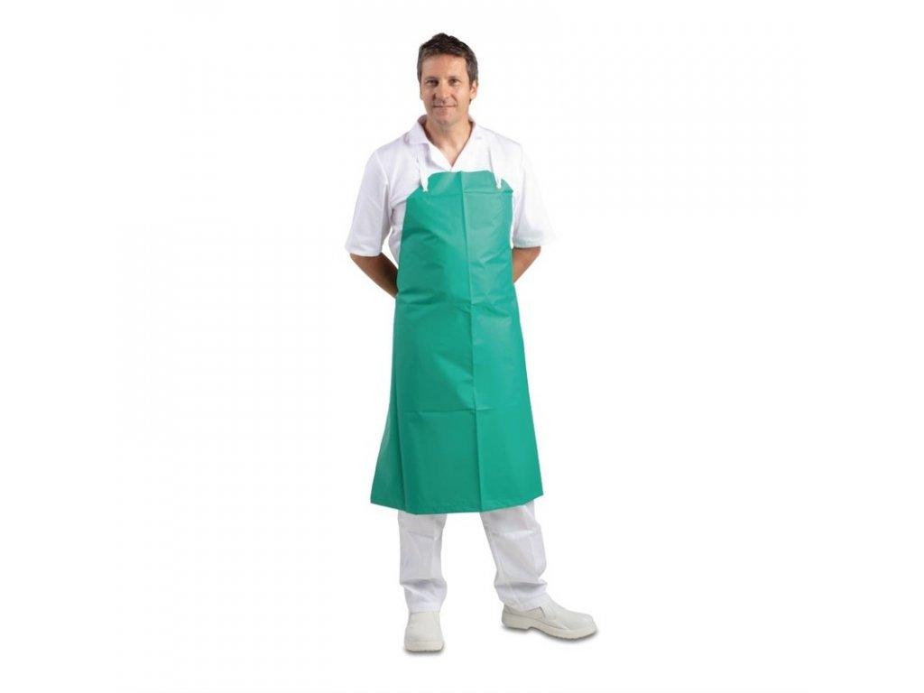 Whites profesionální voděodolná náprsní zástěra zelená