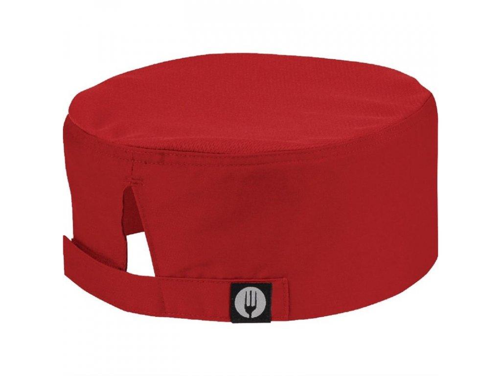 Colour by Chef Works čepice Cool Vent™ červená