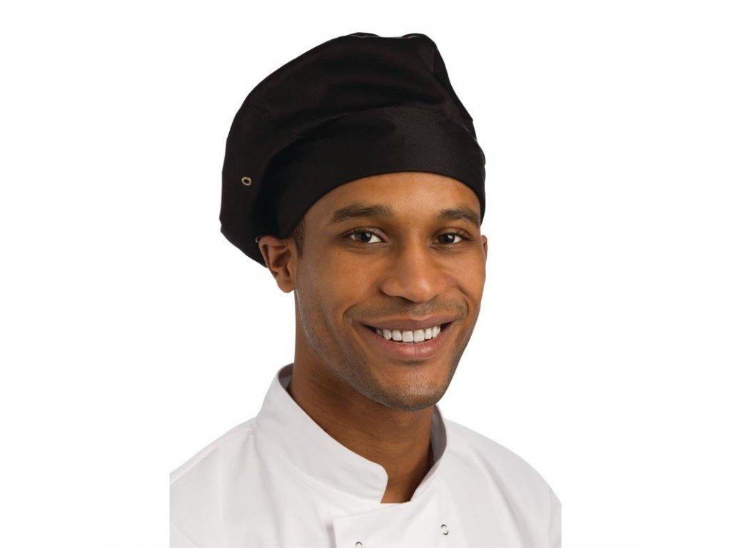 Chef Works kuchařská toka černá