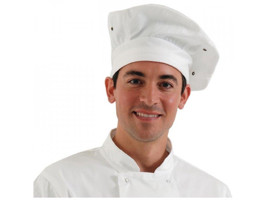 Chef Works kuchařská toka bílá